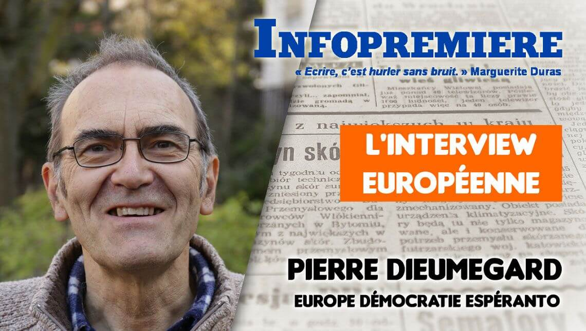 Pourquoi l'espéranto en Europe ? Interview de Pierre Dieumegard
