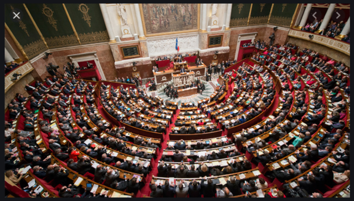 Image : hémicycle Assemblée Nationale